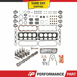 2007-2013 Chevy Silverado 5.3 AFM DOD DELETE KIT CAM GASKETS BOLTS LIFTERS+MORE