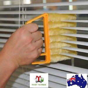 Blinds Cleaner Brush Vertical Window Venetian Blind Hand Held Window Duster Mini