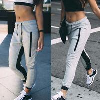 Ladies Tracksuit Bottoms Womens Joggers Trousers Jogging Gym Pants Slacks Baggy