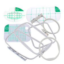 3x Embroidery Hoops Fram Set Kit Fit for Brother SE400 SE350 PE500 Machine