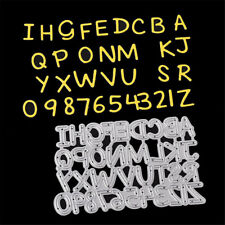 alphabet letter a-z metal cutting dies stencil diy scrapbookingpape card-craftHJ