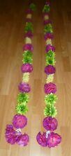 2 x Long Indian Wedding Artificial Flower Garlands