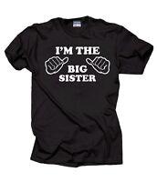 I Am The Big Sister T-Shirt Gift For Sister Tee Shirt