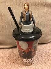 Star Wars Rogue One Cineworld Cup Topper Jyn Erso Figure - Brand New
