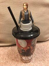 Star Wars Rogue One Cineworld Cup Topper Jyn Erso Figure - Brand New