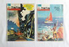 Lot Journal Tintin 766 & 809 Special Plein Air / HERGE  / BD / CHEQUE