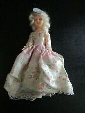 """Vintage 7"""" Hard Plastic Sleep Eye Doll"""