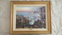 2001 'Thomas kinkade' Numbered and Signed painting