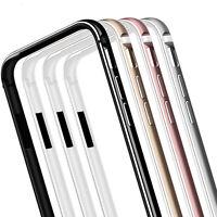 Luxury Metal Aluminum Bumper Silicone Shockproof Case Cover for iPhone 7 6s Plus