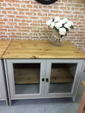 Shabby Chic Solid Pine TV/dvd/sky/led.Cupboard/Unique Furniture Showroom In Kent