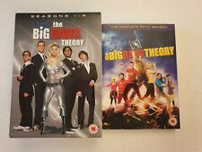 Big Bang Theory Season 1-5 DVD Good Condition Box Set