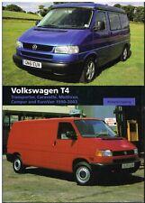 VW TRANSPORTER T4 VAN CARAVELLE CAMPER '90-'03 DESIGN & DEVELOPMENT HISTORY BOOK