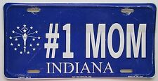 1990's Indiana # 1 MOM BOOSTER License Plate
