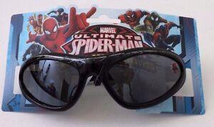 Marvel Ultimate Spider-Man Black Kids Boys Child Sunglasses 100% UV Protection