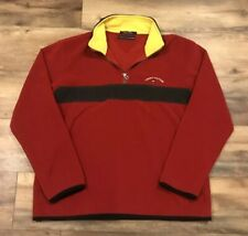 Tommy Hilfiger Vintage 90s Spellout Flag Pullover Fleece Sweatshirt Mens Large L