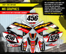 2007 - 2015 HONDA CRF 150R DIRT BIKE GRAPHICS KIT MOTOCROSS MX DECALS