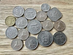 COLLECTION JERSEY COINS - REF 17