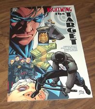 NIGHTWING THE TARGET GRAPHIC NOVEL IN VF/NM+ paperback book