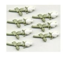 Dress it Up Buttons - Long Stem Roses