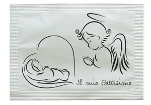 BATTESIMO - Linea Cerimonie. 2000 BUSTINE di zucchero assortite gr. 5
