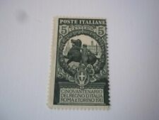 Italy Scott# 120. Mint NH/crease, & some gum disturbance due to age.