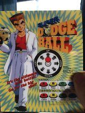 Super Dodgeball Neo Geo Mini Arcade Marquee