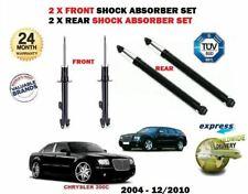FOR CHRYSLER 300C XL 2005-2010 2x FRONT + 2X REAR SHOCK ABSORBER SHOCKER SET