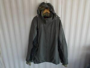 ROSSIGNOL Men's Tribe Shell Ski/Boarding Jacket ~ Charcoal ~ size XXL ~ NWMJK144