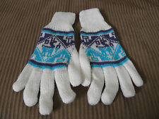 Alpaca Blended Double Thick Gloves Woman Adult X Large, Men Large Size #012104