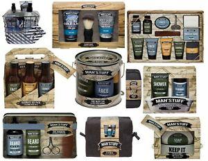 Men's Bath & Body Toiletry Gift Sets Man 'Stuff Christmas Xmas Gifts Technic
