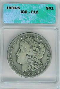 1903-S Morgan Dollar : ICG F12