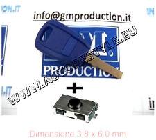 CUBIERTA LLAVE MANDO PARA CONTROL REMOTO FIAT DOBLO PUNTO 500 STILO no Logo +1
