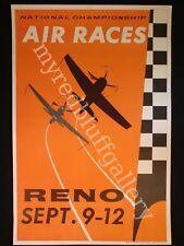 RENO Air Race Poster  1965 Sept. 9 - 12 National Championship