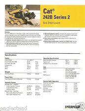 Equipment Brochure - Caterpillar - 242B Series 2 - Skid Steer Loader 07 (EB605)
