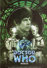 DR WHO - MOONBASE personally signed 12x8 - FRASER HINES  as JAMIE McCRIMMON