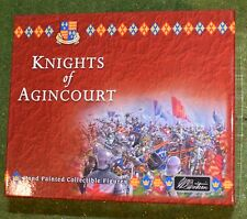 W BRITAIN BRITAINS 40240 KNIGHTS OF AGINCOURT KNIGHTS DUELLING - MOUNTED