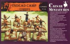 Morts-vivants camp-zombies-caesar miniatures F110-échelle 1/72