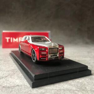 Time Micro 1/64 Rolls-Royce Phantom 8 Diecast Alloy Model Car Collection Vehicle