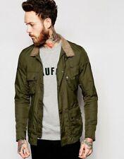barbour international nylon sports jacket fern green RRP£159