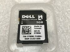 Dell Original 1GB vFLASH SD Card P/N P789K iDRAC6 DRAC 6 R710 M710 M610 Servers