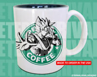 Goku Starbucks Anime Manga Japanese Insipred Cartoon Mug