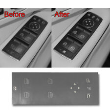 1pcs Door Window Switch Button Repair Gray Sticker FOR  Benz W204 C250 C300 C350