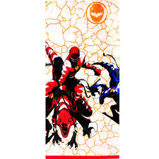 POWER RANGERS Dino Thunder PAPER TABLECOVER ~ Birthday Party Supplies Vintage