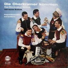"""12""""  Das Oberkrainer Sextett Original Ensemble aus Ljubljana Die Oberkrainer"""