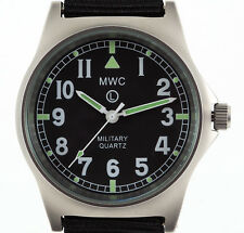 MWC G10 LM Non Date - Military Watch (Black Strap)
