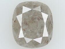 Natural Loose Diamond Grey Color Cushion I3 Clarity 4.70 MM 0.55 Ct N6973