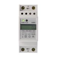 Misuratore di Energia Contatore Elettrico di Energia Digitale LCD Monofa TE747