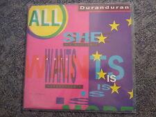 "Duran Duran-All She Wants Is 12"" US Remixes"