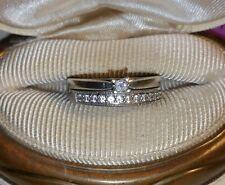 Zales Platinaire Princess Diamond solitaire Pre-Promise Engagement ring AGW $200