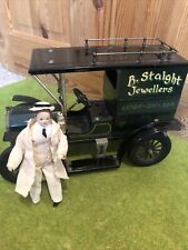 More details for 1/12th scale dolls house jewellery store delivery van + doll
